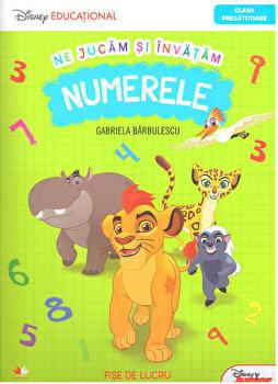 Ne jucam si invatam. Numerele/Disney de la Litera educational