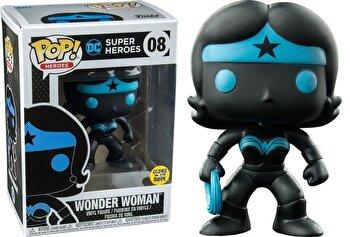 Figurina Funko Pop! Justice League – Wonder Woman Silhouette, fosforescent de la Funko Pop