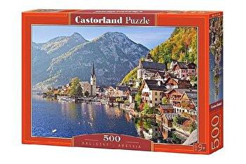 Puzzle Hallstatt – Austria, 500 piese de la Castorland
