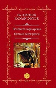 Studiul in rosu aprins – Semnul celor patru/Sir Arthur, Conan Doyle de la RAO