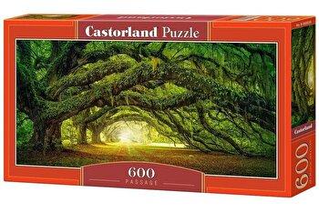 Puzzle panoramic Pasaj, 600 piese de la Castorland