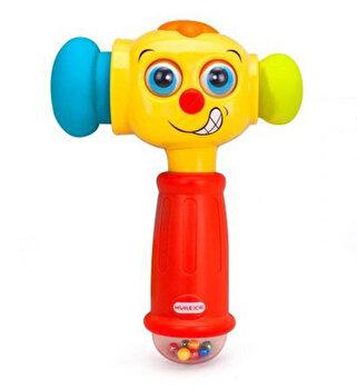 Jucarie interactiva – Ciocan cu lumini si sunete de la Hola Toys