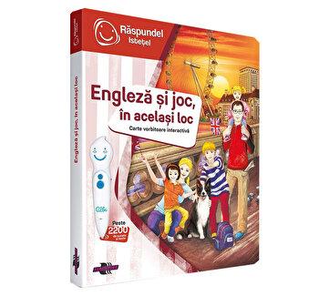 Carte interactiva Engleza si joc, in acelasi loc de la Raspundel Istetel