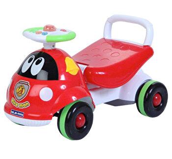 Ride-on si antemergator, masinuta de pompieri de la Saint Toys