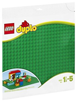 LEGO DUPLO, Placa mare verde pentru constructii 2304 de la LEGO