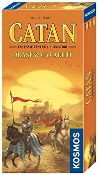 Catan – extensie Orase&Cavaleri 5/6 jucatori de la Kosmos