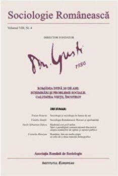 Sociologie Romaneasca. Vol. VIII, Nr. 4/*** de la Institutul European