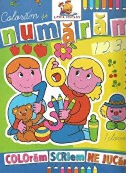 Coloram si numaram. Coloram, scriem, ne jucam/*** de la Lizuka Educativ