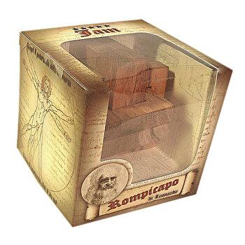 Puzzle din lemn JAM – Leonardo da Vinci de la Logica Giochi