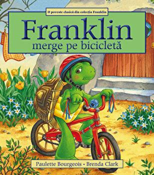Franklin merge pe bicicleta/Paulette Bourgeois de la Katartis