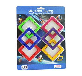 Joc de constructie magnetic – 6 piese de la Magplayer