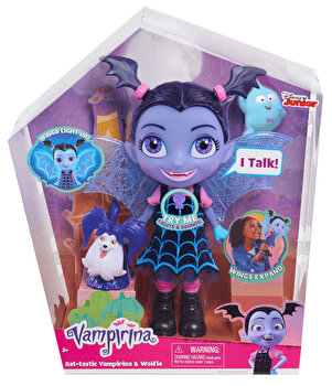 Vampirina – Set figurina interactiva Vampirina si Lupi de la Disney
