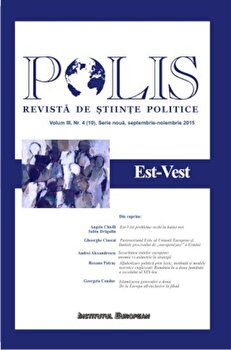 Polis. Est-Vest/*** de la Institutul European