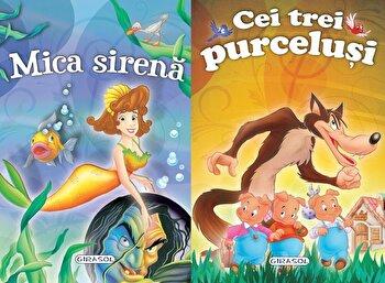 2 Povesti: Mica sirena si Cei trei purcelusi/*** de la Girasol