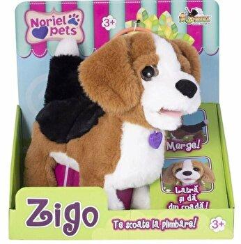 Jucarie interactiva plus Zigo, catelusul Beagle de la Noriel