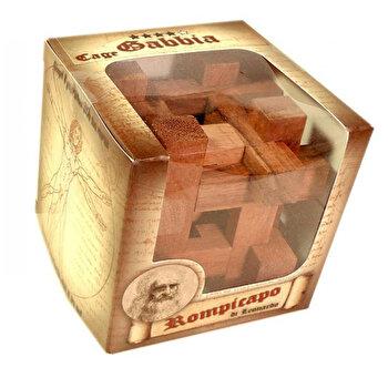 Puzzle din lemn – Cusca – Leonardo da Vinci de la Logica Giochi