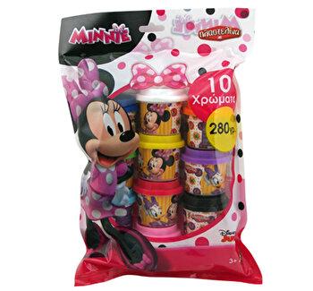 Set 10 borcanase plastilina – Minnie Mouse de la Art Greco