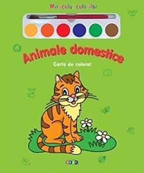 Animale domestice – Carte de colorat/*** de la Prut
