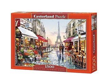 Puzzle Florarie, 1500 piese