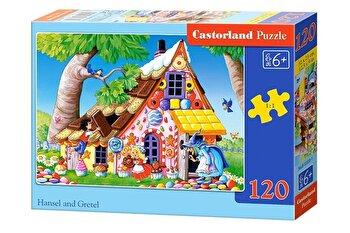 Puzzle Hansel si Gretel, 120 piese