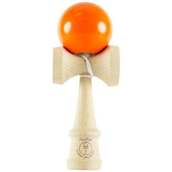 Kendama SunRise Super bright UV portocaliu de la Krom Kendama