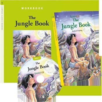 Set Readers 4 The Jungle Book/*** de la Mediadocs Publishing