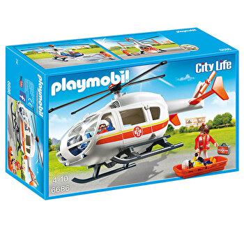 Playmobil City Life, Elicopter medical de urgenta de la Playmobil