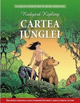 Cartea junglei. Clasicii literaturii in benzi desenate/*** de la Litera