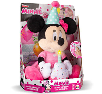 Jucarie plus Minnie Mouse – La multi ani de la IMC Toys
