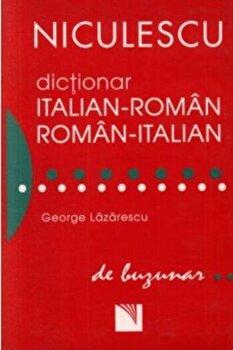 Dictionar italian-roman/roman-italian de buzunar/George Lazarescu de la Niculescu