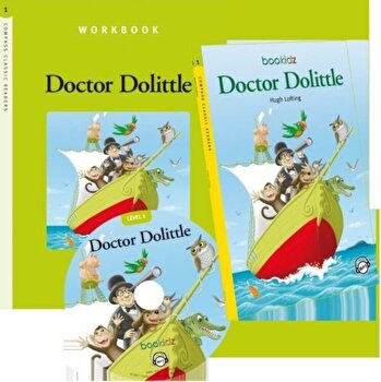 Set Readers 5 Doctor Dolittle/***
