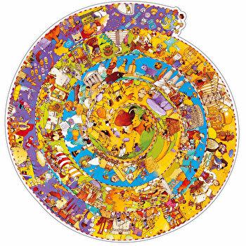 Puzzle observatie – Evolutia, 350 piese de la Djeco