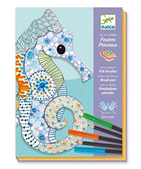 Kit creativ de colorat – Motive artistice de la Djeco