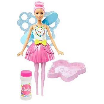 Papusa Barbie Dreamtopia cu baloane de sapun de la Barbie