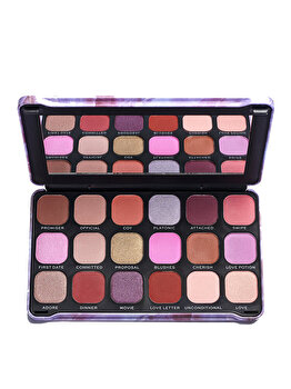 Paleta de farduri Makeup Revolution Forever Flawless Unconditional Love de la Makeup Revolution London