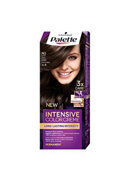 Vopsea de par Intensive Color Cream, N3 Saten Mediu, 100 ml