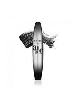 Mascara All In One, Negru, 5ml de la INGRID Cosmetics
