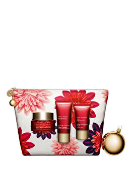 Set cadou Clarins Multi Intensive Collection (Crema de zi, 50 ml + Crema de noapte, 15 ml + Crema de maini, 30 ml) de la Clarins