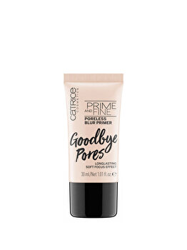 Baza de machiaj Catrice Prime And Fine Poreless Blur Primer, 30 ml de la Catrice