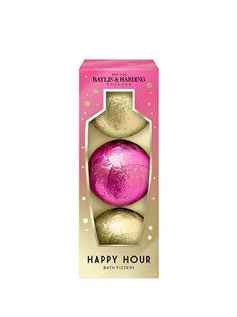 Set cadou Baylis & Harding Cocktail Hour (3 x Bomba de baie, 100 g) de la Baylis And Harding