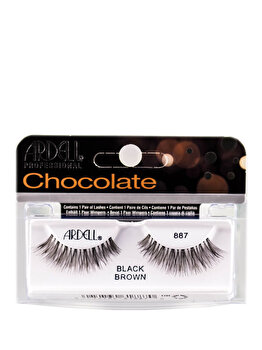 Gene false Ardell Chocolate Black Brown 887 de la Ardell