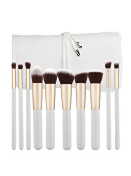 Set 10 pensule cu husa Tools4Beauty de la Tools4beauty