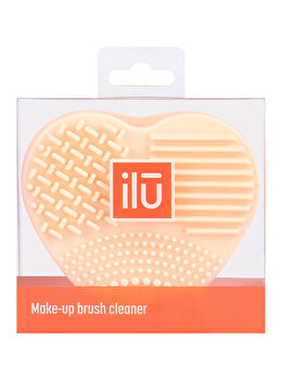 Accesoriu portocaliu pentru curatarea pensulelor Ilu de la Ilu
