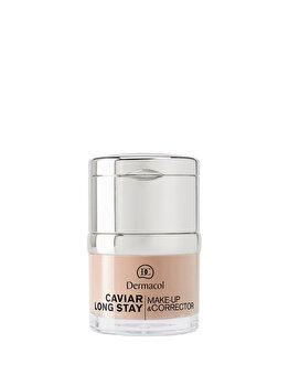 Fond de ten Caviar Long Stay Make-up & Corrector – Sand no.1.5 de la Dermacol