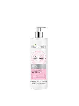 Emulsie calmanta de curatare a fetei Bielenda Capillary Skin, 190 ml de la Bielenda