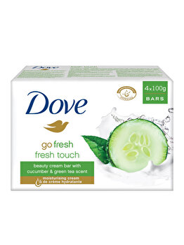 Set 4x100gr Dove Sapun Crema Go Fresh Touch de la Dove