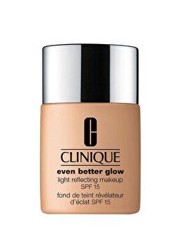 Fond de ten Clinique Even Better Glow Light Reflecting Makeup SPF15, 30 ml, #CN 58 Honey de la Clinique