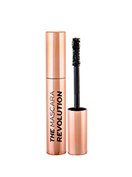 Mascara Makeup Revolution London The Mascara Revolution, Black, 8 ml de la Makeup Revolution London
