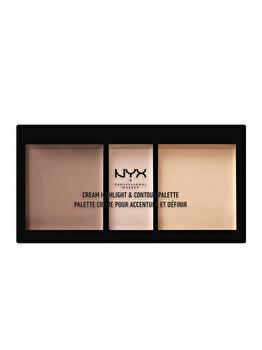 Paleta de conturare si iluminatoare NYX Professional Makeup, Light de la NYX