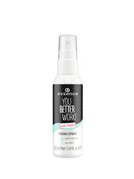 Spray pentru fixare machiaj Essence You Better Work!, 50 ml